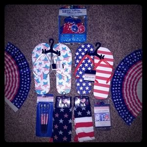 Other - 4TH OF JULY DECORATIVE HOLIDAY SET. NEW